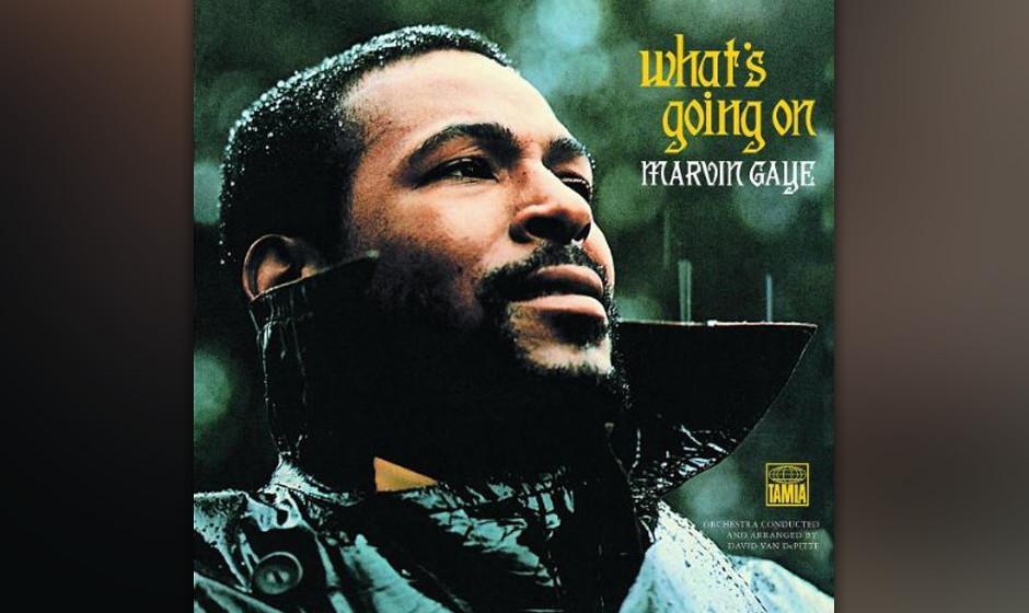 1. Marvin Gaye - 'What's Going On' (Motown, 1971) Im Gegensatz zum Listenwesen der Pop- und Rockhistorie singt der Soul-Kan