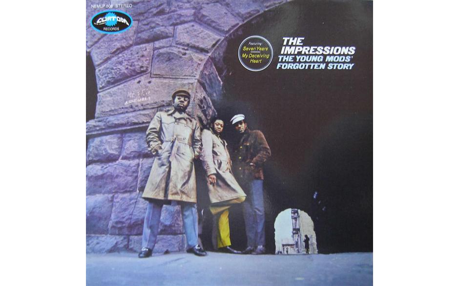 25. The Impressions - 'The Young Mods' Forgotten Story' (Curtom, 1969) Curtis Mayfield und seine Band auf der Höhe ihres K