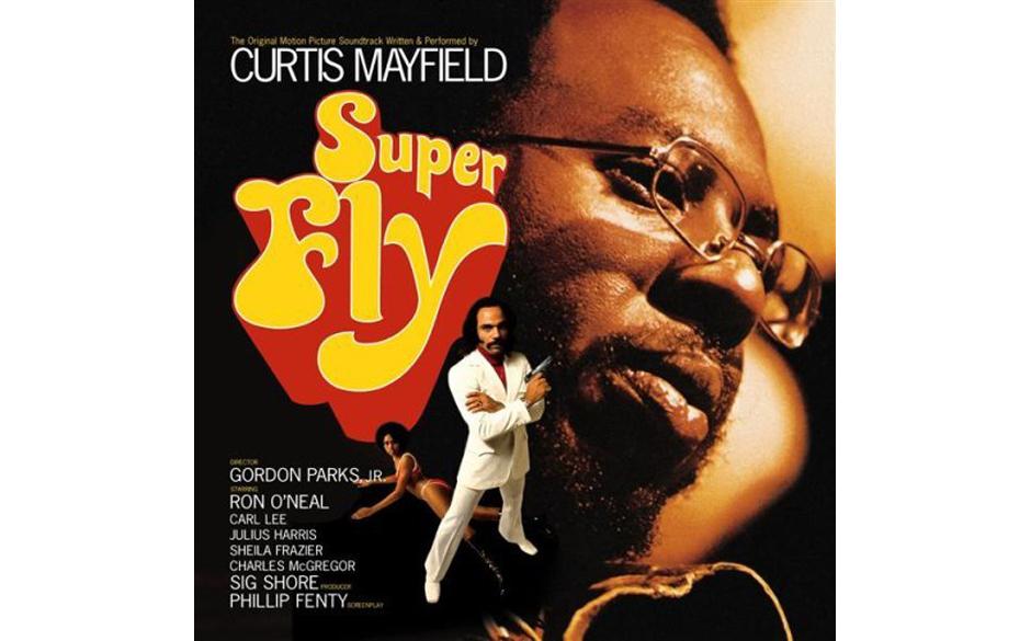 24. Curtis Mayfield - 'Super Fly' (Curtom, 1972) Bereits bei den Impressions entwarf Curtis Mayfield eine schwarze Sichtweise