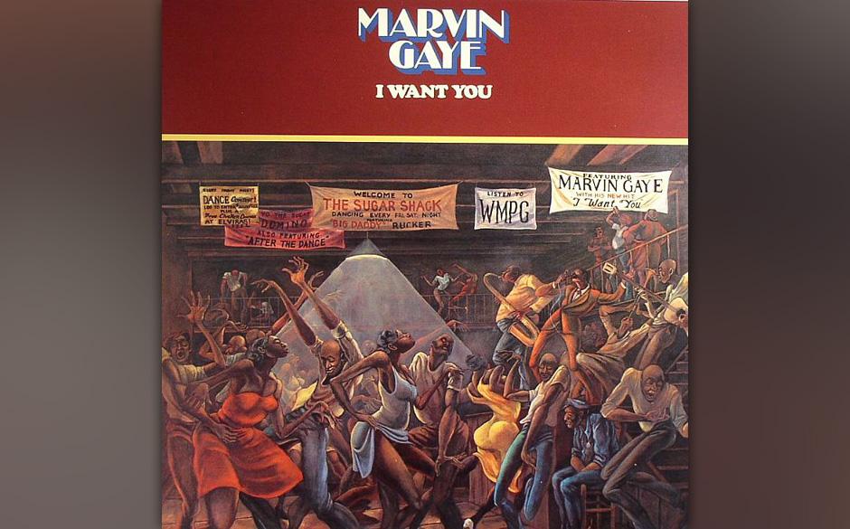 21. Marvin Gaye   -'I Want You' (Motown, 1976) Die vielleicht sanfteste Discofizierung eines Soul-Künstlers ever.