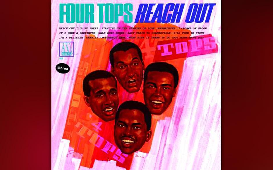 16. The Four Tops  - 'Reach Out' (Motown, 1966) Motowns Hitschreiber und Produzenten Holland–Dozier–Holland reservierten