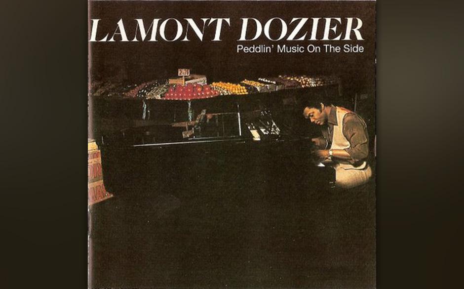 87. Lamont Dozier -'Peddlin' Music On The Side' (Warner, 1977) Auch wer keine Ahnung von und kein Interesse an Soul hatte, ka