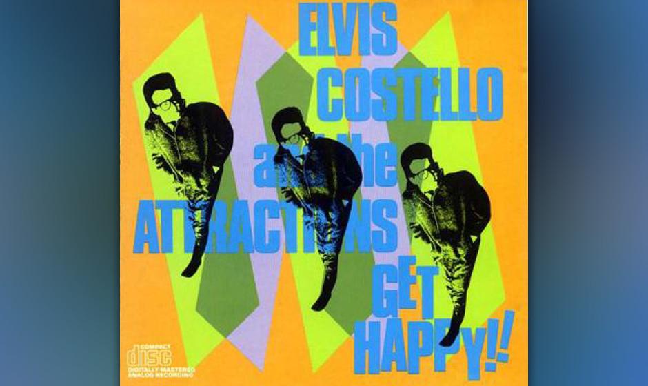 97. Elvis Costello - 'Get Happy!!' (Demon, 1980) Engländer, Weißer, Intellektueller: Elvis Costello nahm seine erste musiko