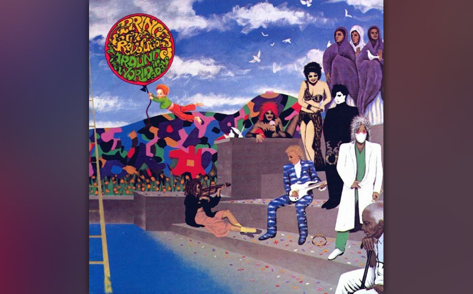 98.Prince - 'Around The World In A Day' (Warner, 1985) Nach dem Triumph mit 'Purple Rain' kehrte Prince mit dieser psychedeli