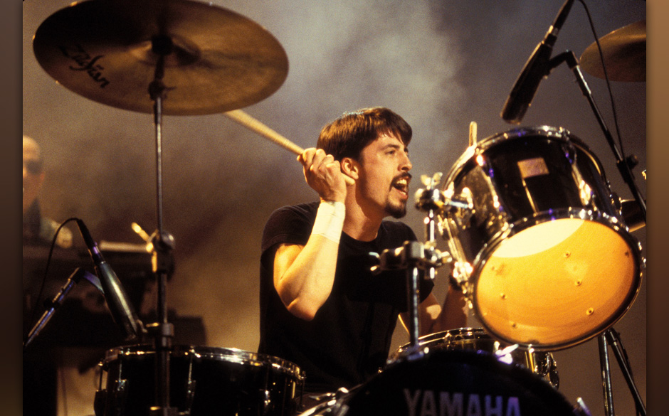 Dave Grohl of Foo Fighters and Nirvana (Photo by Kevin Mazur/WireImage)