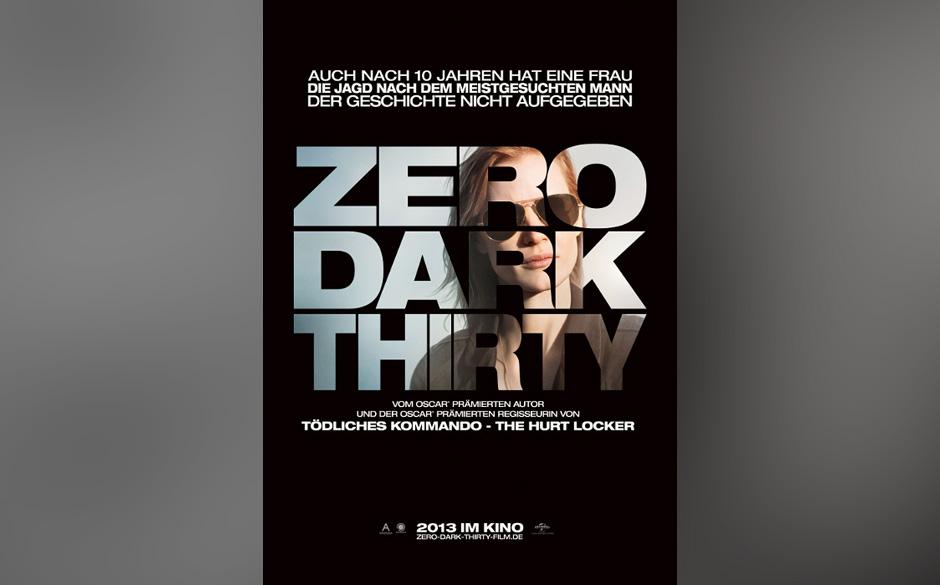 Nominiert in der Kategorie: bester Film - 'Zero Dark Thirty'