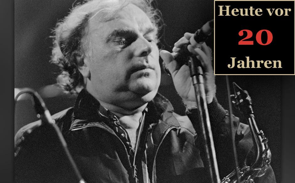 Van Morrison, 1993. Die damals noch unbekannten Counting Crows spielten in Morrisons Abwesenheit 'Caravan'.