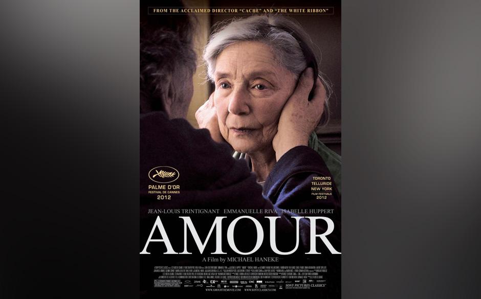 Der 'Beste fremdsprachige Film' ist Michael Hanekes 'Amour'.