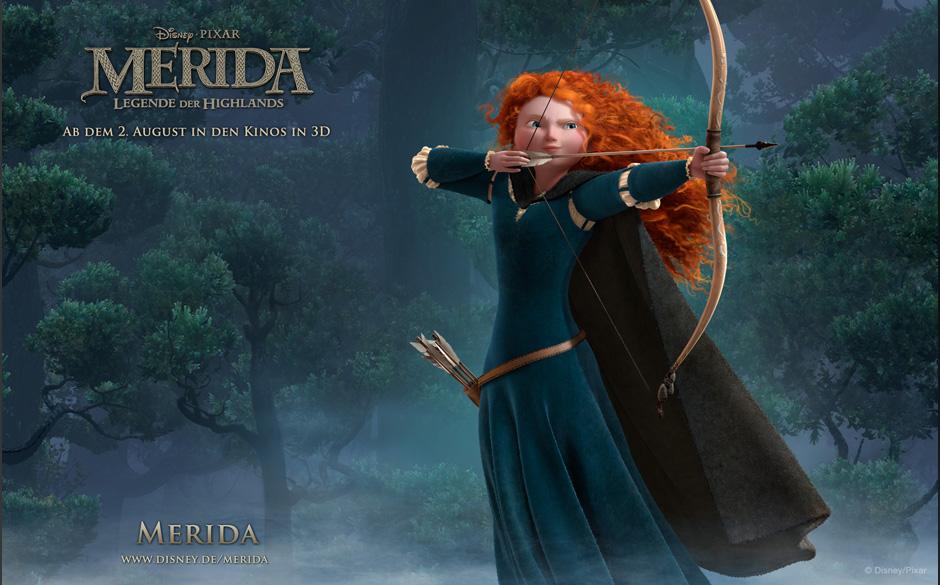 'Merida' gewann den Globe in der Kategorie 'Bester Animationsfilm'.