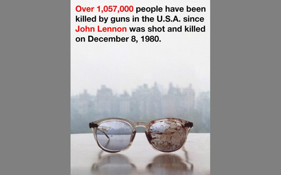 Yoko Ono: Protest gegen Waffenverkäufe