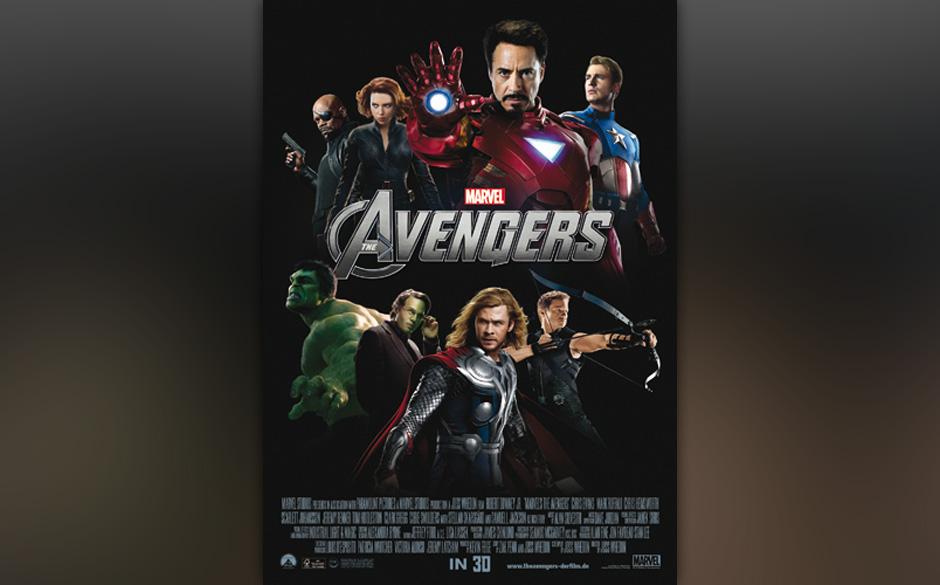 Platz 8: The Avengers