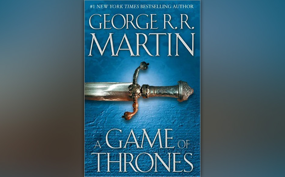Platz 5: George R.R. Martin - 'A Game of Thrones'