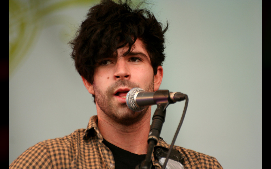 Foals performing live at Latitude festival on 19/07/2008 by Dan Griffiths