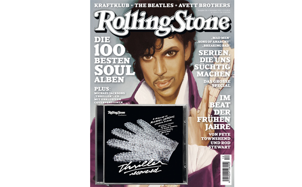 Prince auf dem Rolling-Stone-Cover 'Die 100 besten Soulalaben', Dezember 12/2012