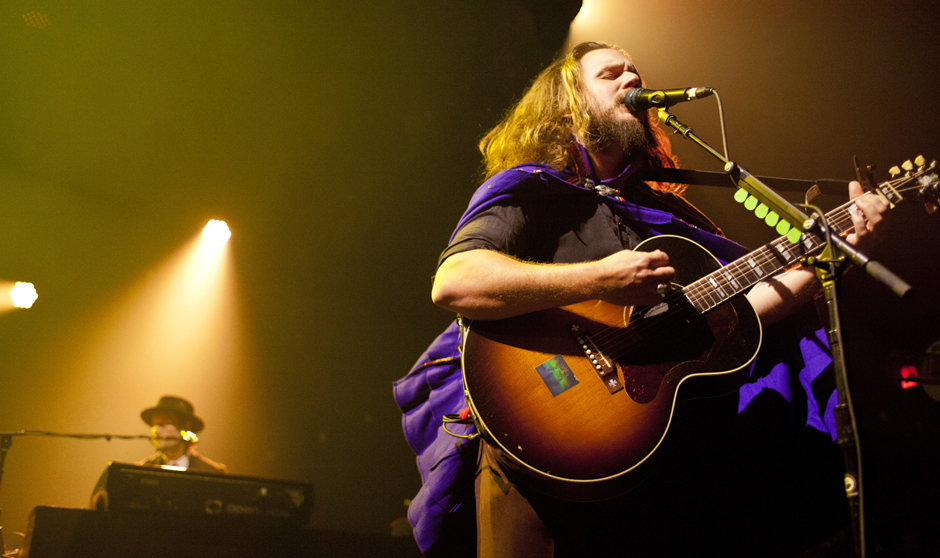 Performance: unter anderem mit My Morning Jacket in New York