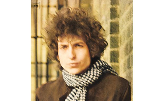 Bob Dylan 'Blonde on Blonde' high res cover art