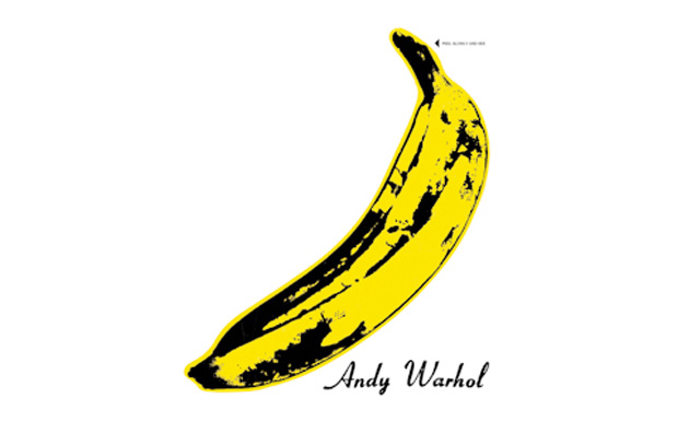 Velvet Underground and Nico 'Andy Warhol Peel Slowly and See'  high res cover art mini
