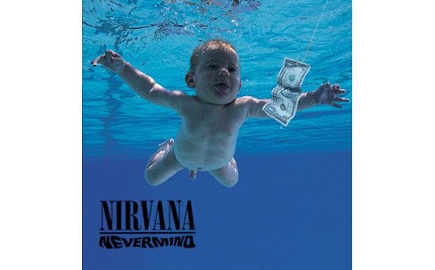 Nirvana 'Nevermind' high res cover art