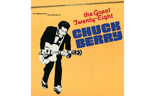 The Great Twenty-Eight Chuck Berry high res cover art