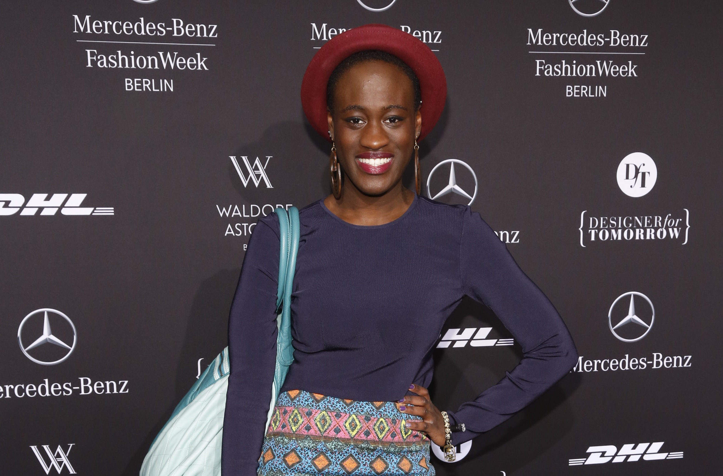 Ivy Quainoo Mercedes-Benz Fashion Week Berlin Autumn/Winter 2013 in Berlin am 16.01.2013 Foto: Nass / Brauer Photos fuer Merc