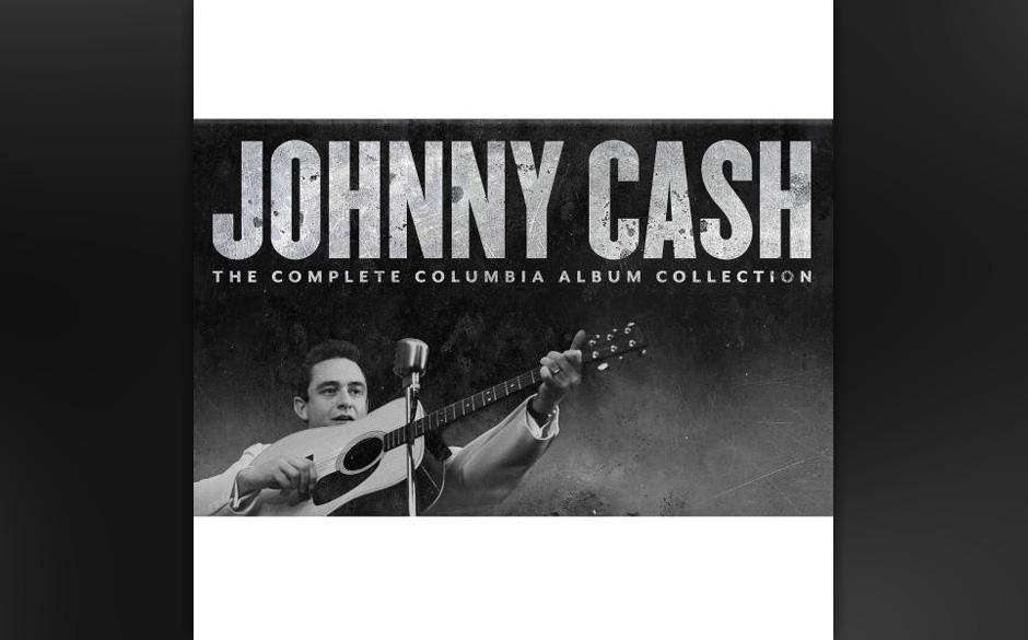 Johnny Cash - 'The Complete Columbia Album Collection'.  Weisen über die Eisenbahn, Weihnachts- und Kinderlieder.