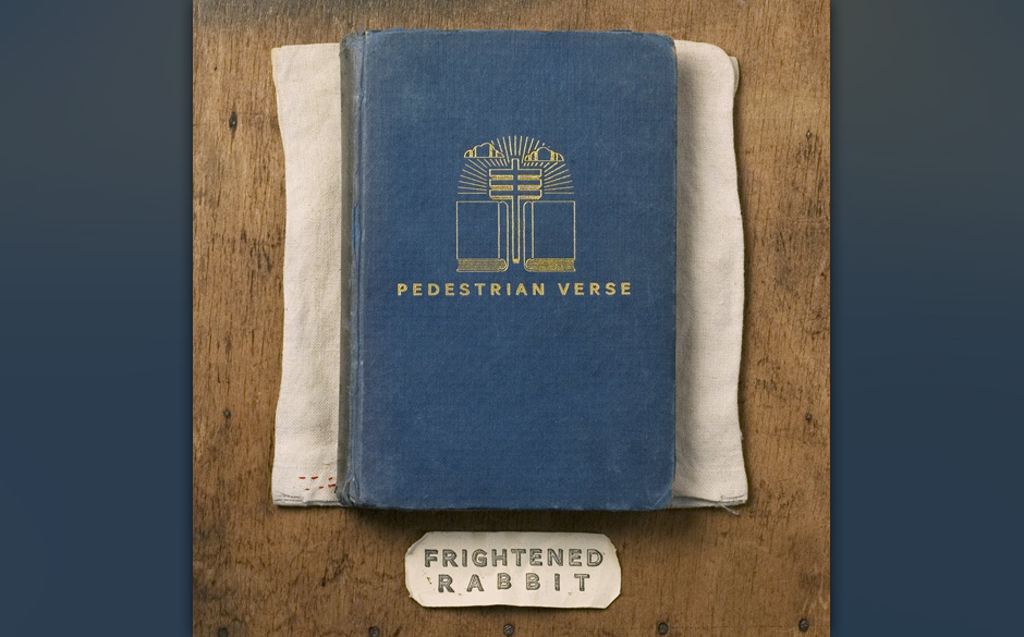 Frightened Rabbit - Pedestrian Verse. Spuren von 80s-Wave und Post- rock.