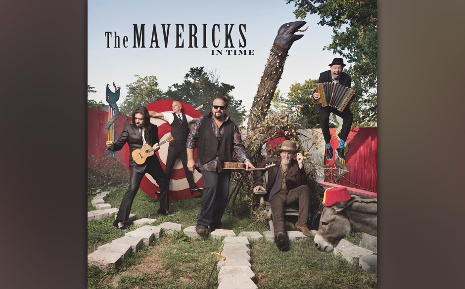 The Mavericks - In Time. Akkordeon-Punch und Mariachi-Gebläse.