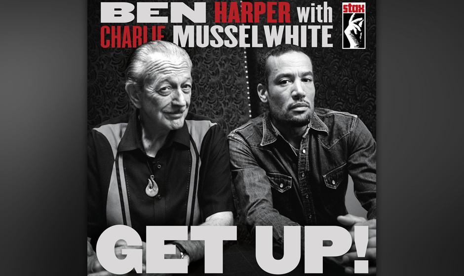 Ben Harper with Charlie Musselwhite -Get Up! Ben Harper hat den Blues – mit prominenter Hilfe an der Harp.