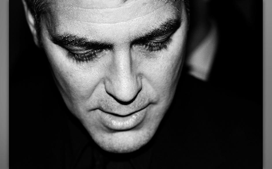 George Clooney / 2006: Ich buchte den Zug nach Berlin und schwänzte eine Woche die Schule mit der Hoffnung, ein Bild von Geo
