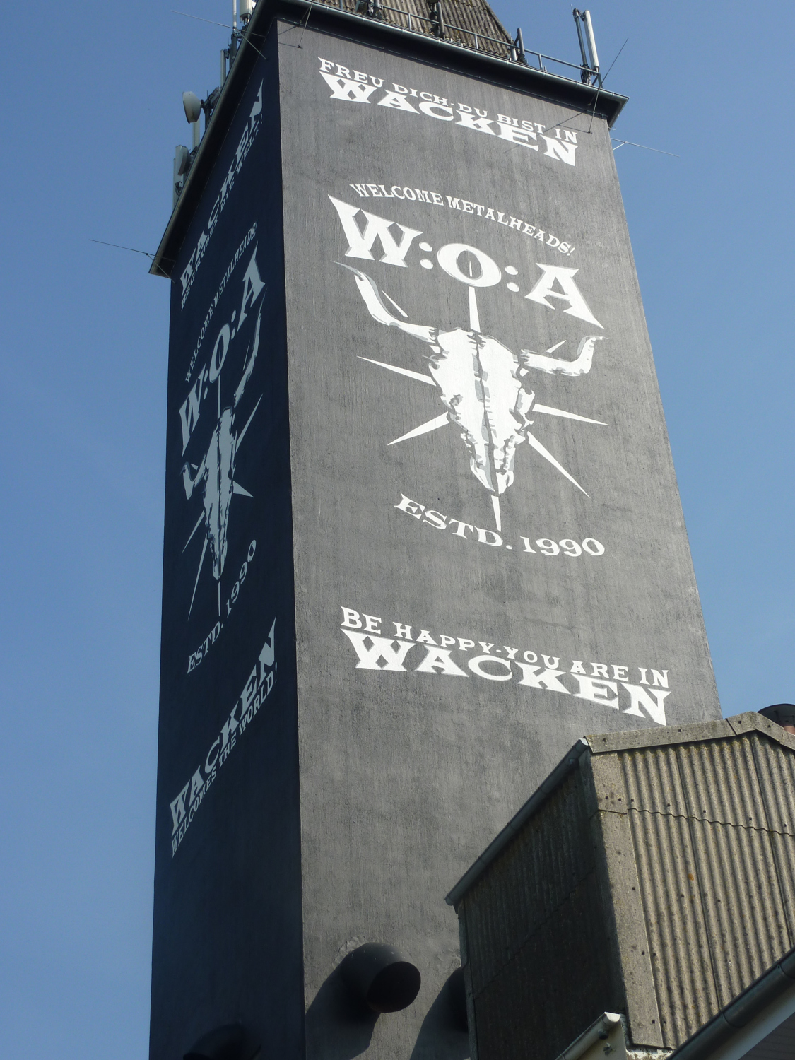 Wacken ohne Open Air, September 2012