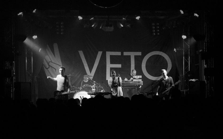 Am 2. Februar spielten Veto aus Dänemark ein Konzert im ehemaligen Berliner Kino 'Lido'. Die Fotos: