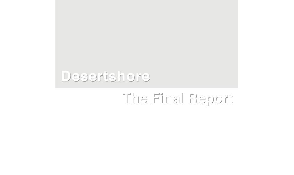 13. X-TG: 'Desertshore / The Final Report' (-)