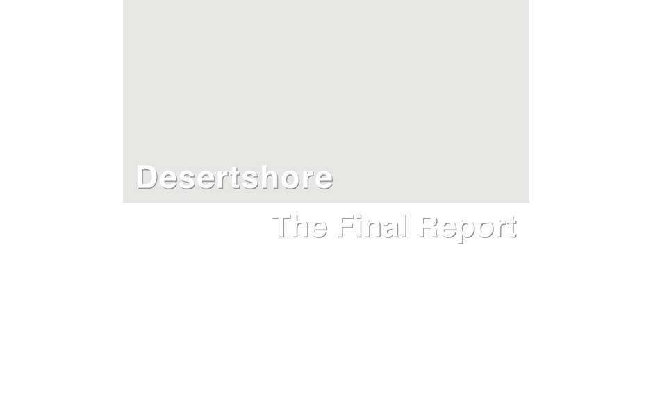 13. X-TG: 'Desertshore / The Final Report' (-)