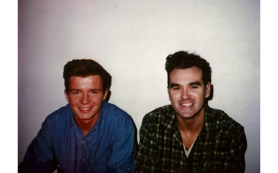 Rick und Mick, äh, Morrissey