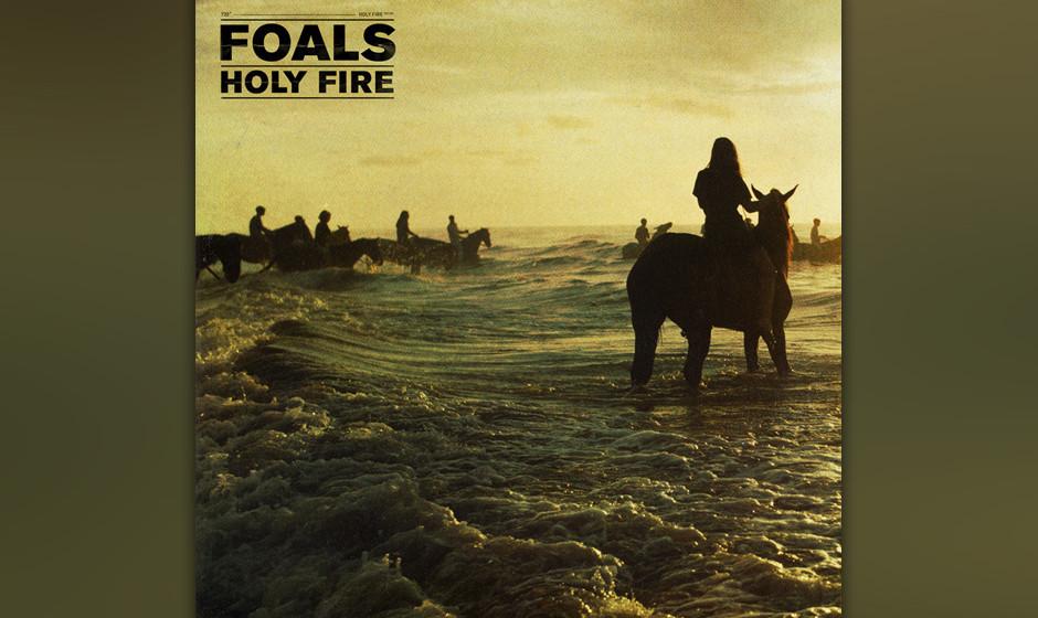Foals - 'Holy Fire'(Warner) Endlich ein neues innovatives Album der Foals, die auf reichlich Falsett und grungig-verrockte G
