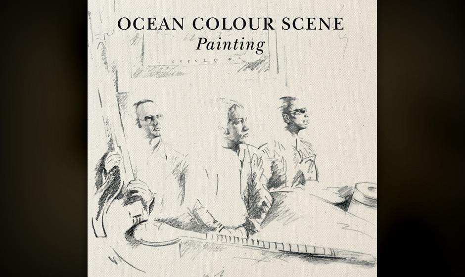 Ocean Colour Scene - 'Painting' (Cooking Vinyl/Indigo) Protegiert von Paul Weller und von Oasis als Tour-Support verpflichte