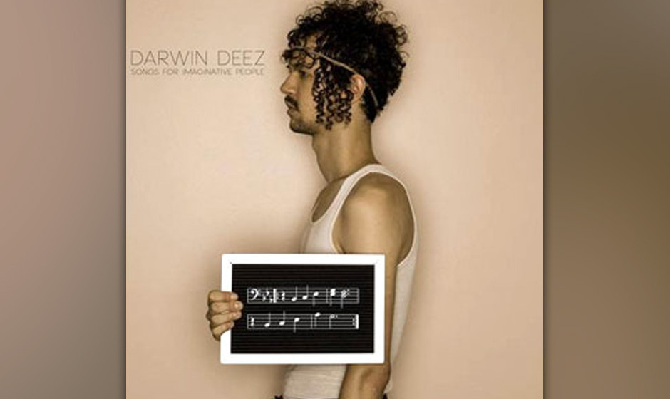 Darwin Deez  - 'Songs For Imaginative People'(Cooperative Music/Universal) Das zweite Album kommt wieder recht Indie-Pop'esk