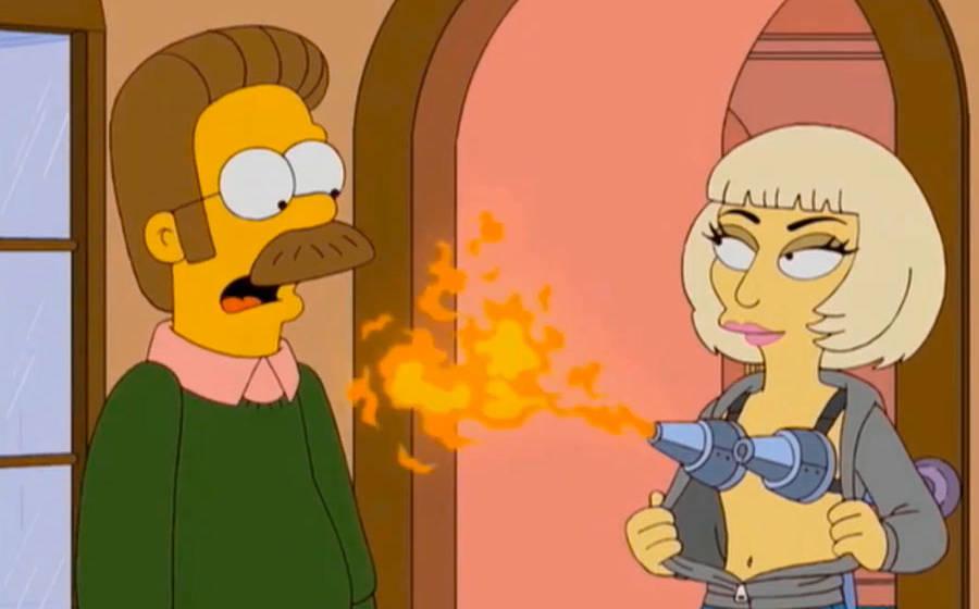 "Lady Gaga bei den ""Simpsons"""