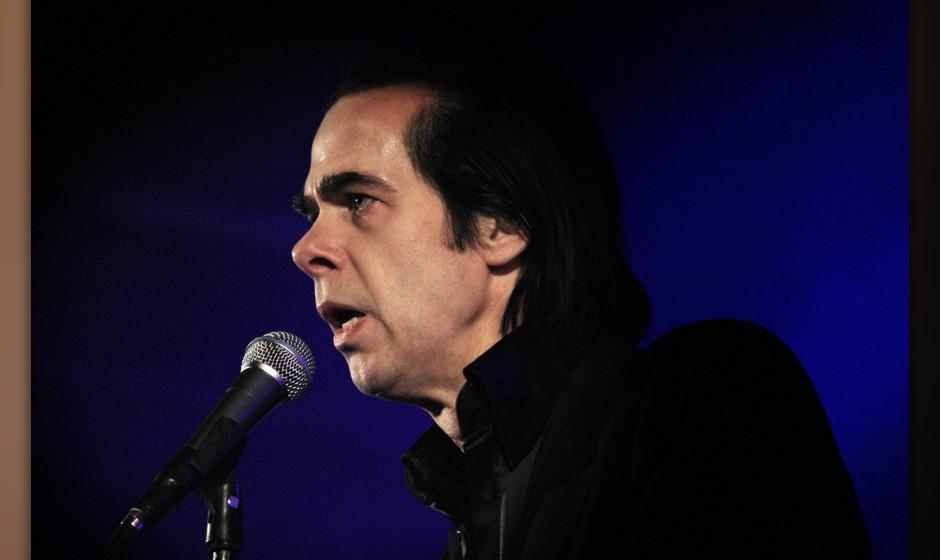 Wirkte bei seinen neuen Songs gelassen: Nick Cave
