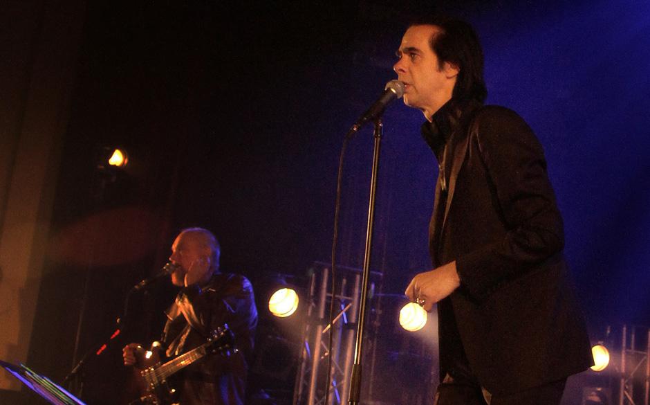 Nick Cave in Berlin - die Fotos
