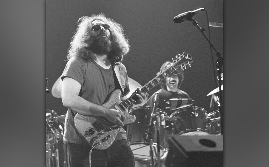 The Grateful Dead perform 11/16/1978 at the Uptown Theater, Chicago, Il, USA