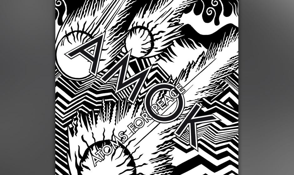 Atoms For Peace - 'Amok'. Das Allstar-Projekt von Thom Yorke, Flea und Nigel Godrich bewegt sich stilistisch in der Nähe von