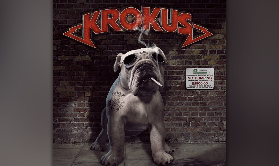 Krokus - 'Dirty Dynamite'. Die 'AC/DC aus der Schweiz' machen einen weiteren Schritt weg von den Metal-Ursprüngen.