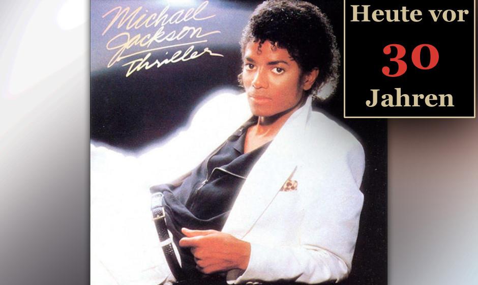 1983: 'Thriller' wird zur erfolgreichsten Platte aller Zeiten