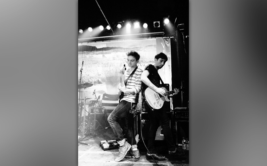 Tommy McLaughlin (rechts) und Danny Snow