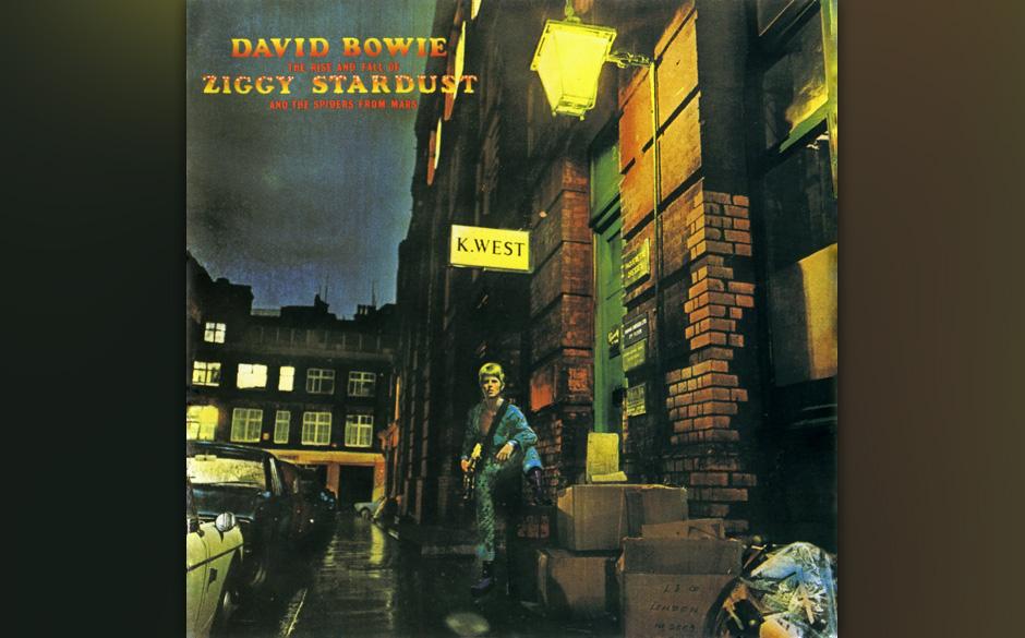 """32. Five Years. Noch mehr """"Ziggy Stardust"""". Der Startsong des Albums. Fünf Jahre hat sie noch, die gute, alte Erde. Dann"""