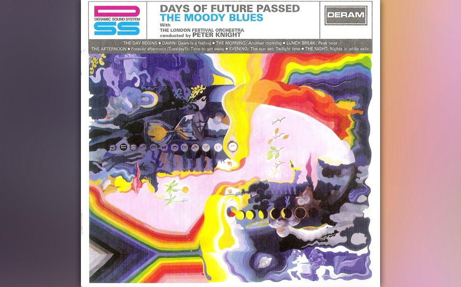 Replay: The Moody Blues - 'Days Of Future Passed'. Plötzliche und radikale musikalische Metamorphose.