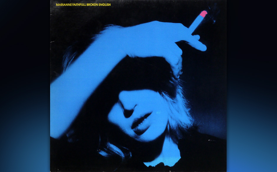 Replay: Marianne Faithfull - 'Broken English'. Dokument rigoroser Transformation.