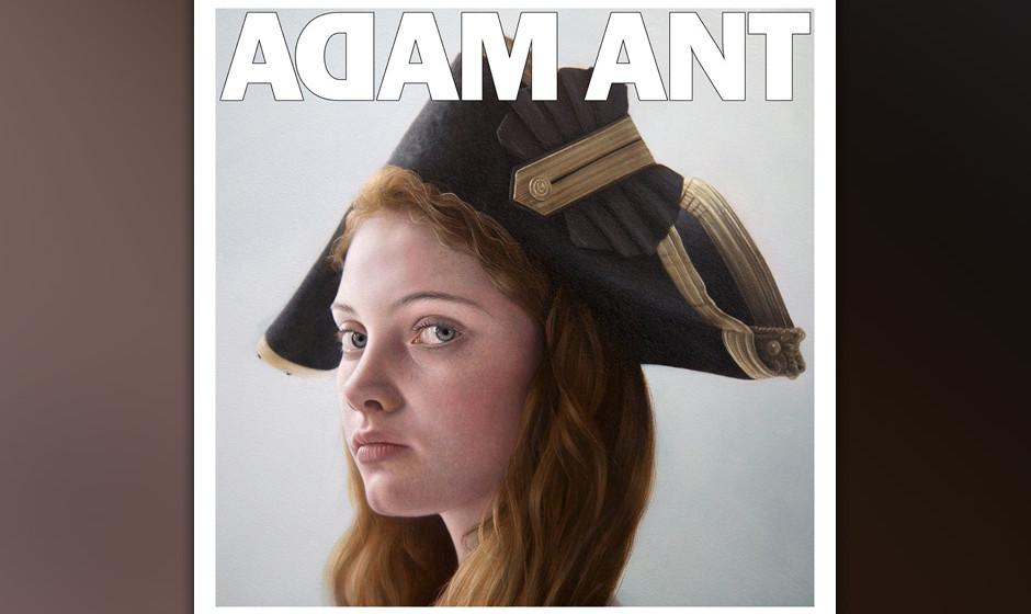 Adam Ant -'Adam Ant Is The Blue Black Hussar In Marrying The Gunner's Daughter'. Ant sitzt wieder zwischen den Stühlen.