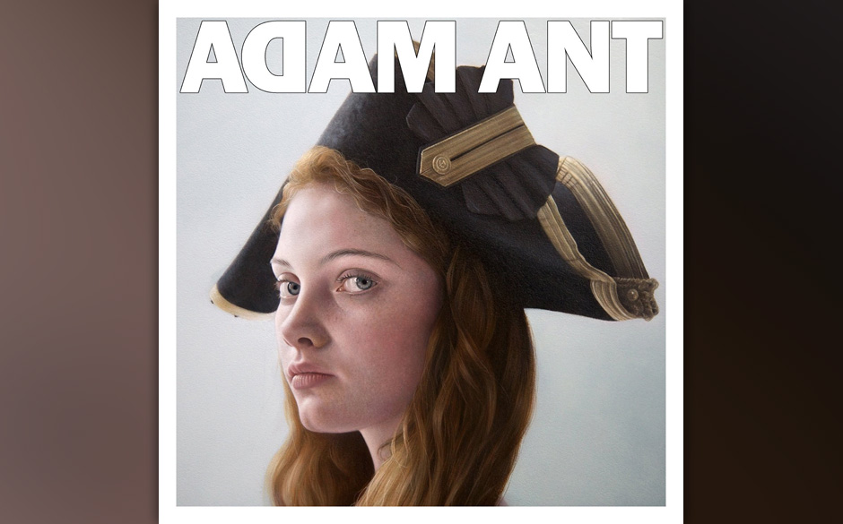 Adam Ant -'Adam Ant Is The Blue Black Hussar In Marrying The Gunner's Daughter'. Ant sitzt wieder zwischen den Stühlen.